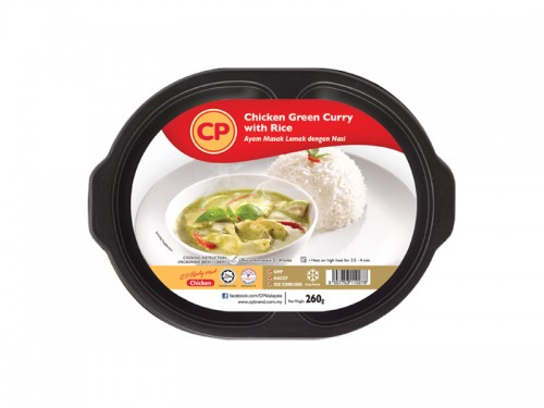 CP Chicken Green Curry with Rice