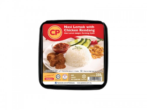 CP Nasi Lemak with Chicken Rendang