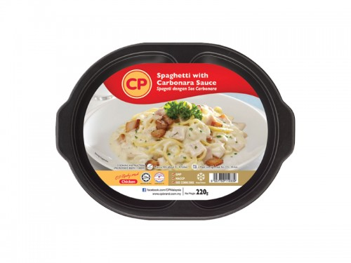 CP Spaghetti with Carbonara Sauce