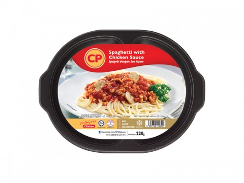 CP Spaghetti with Chicken Sauce